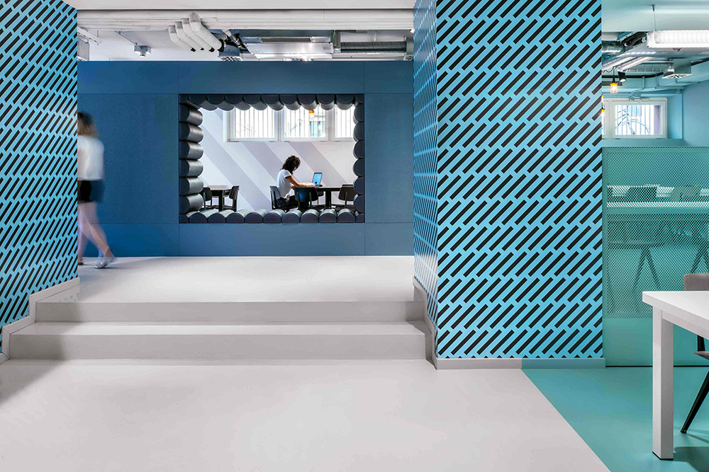 The Student Hotel Florence – Interior Design Photography by Sal
