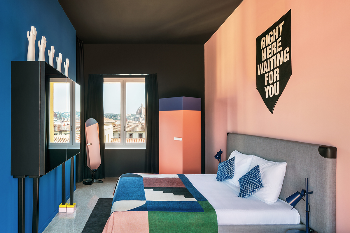 Hotel guest the student hotel florence for Design hotel firenze