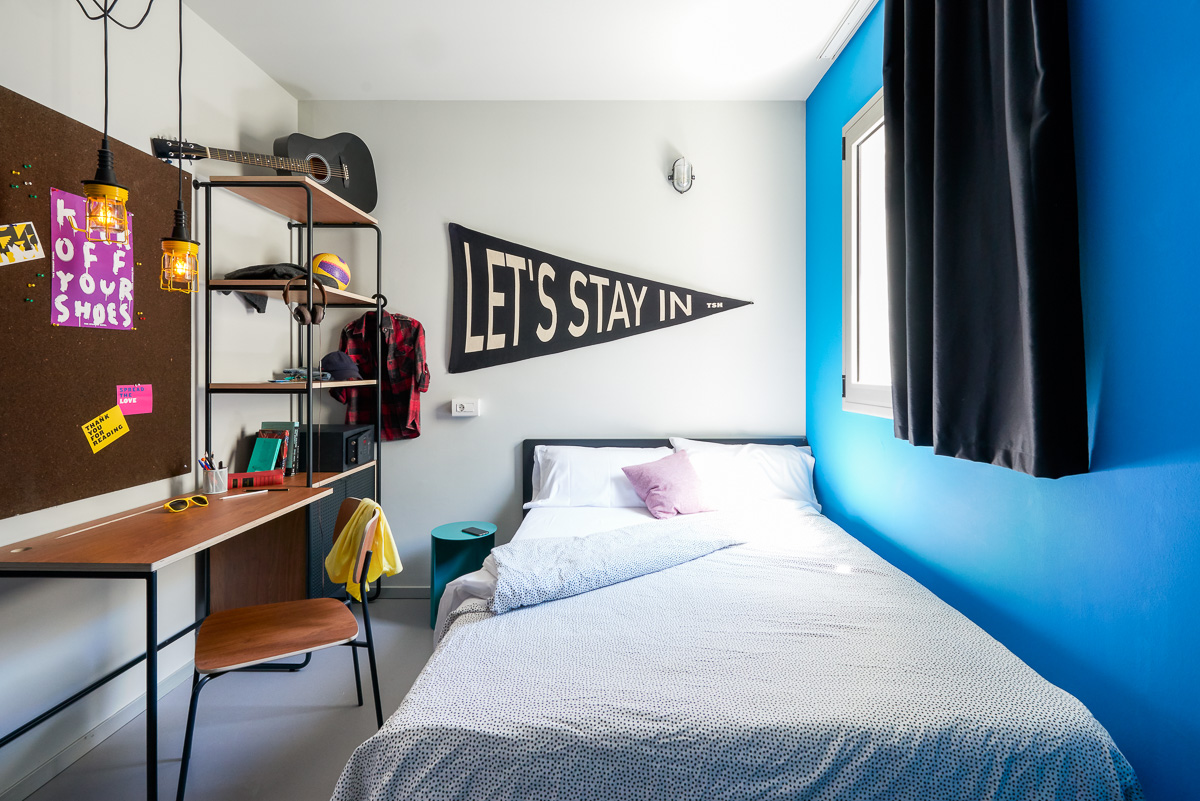 Your Student Only Residence In Barcelona Is Tsh Campus Marina