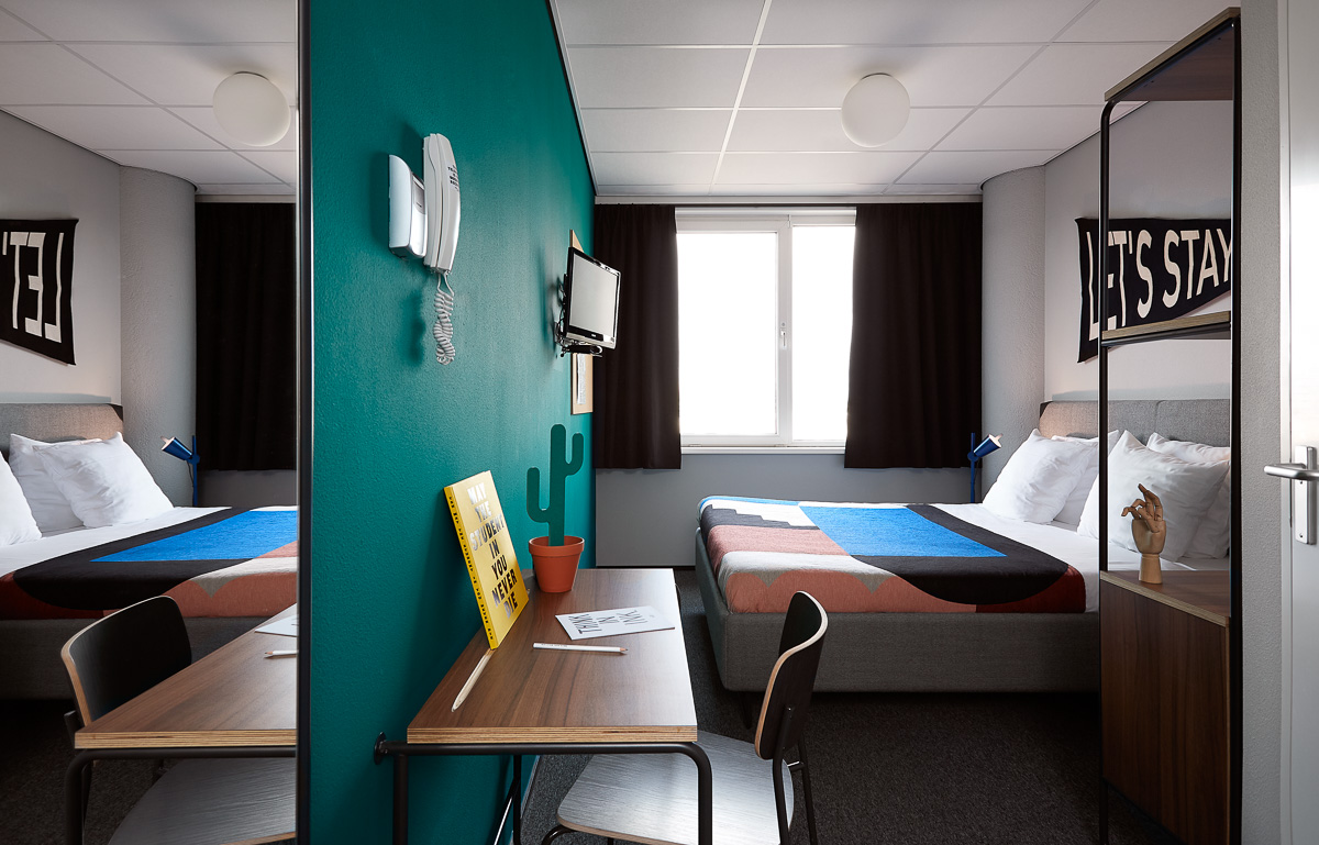 The student hotel amsterdam west modern design hotel for Hotel design job