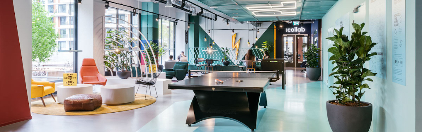 The Student Hotel Amsterdam West – Interior Design Photography by Sal Marston