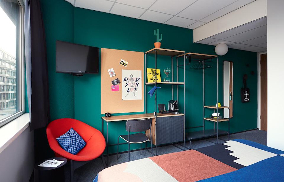 the student hotel amsterdam west modern design hotel