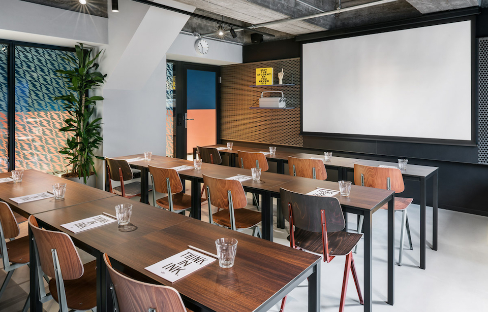 The Student Hotel Dresden – Interior Design Photography by Sal Marston