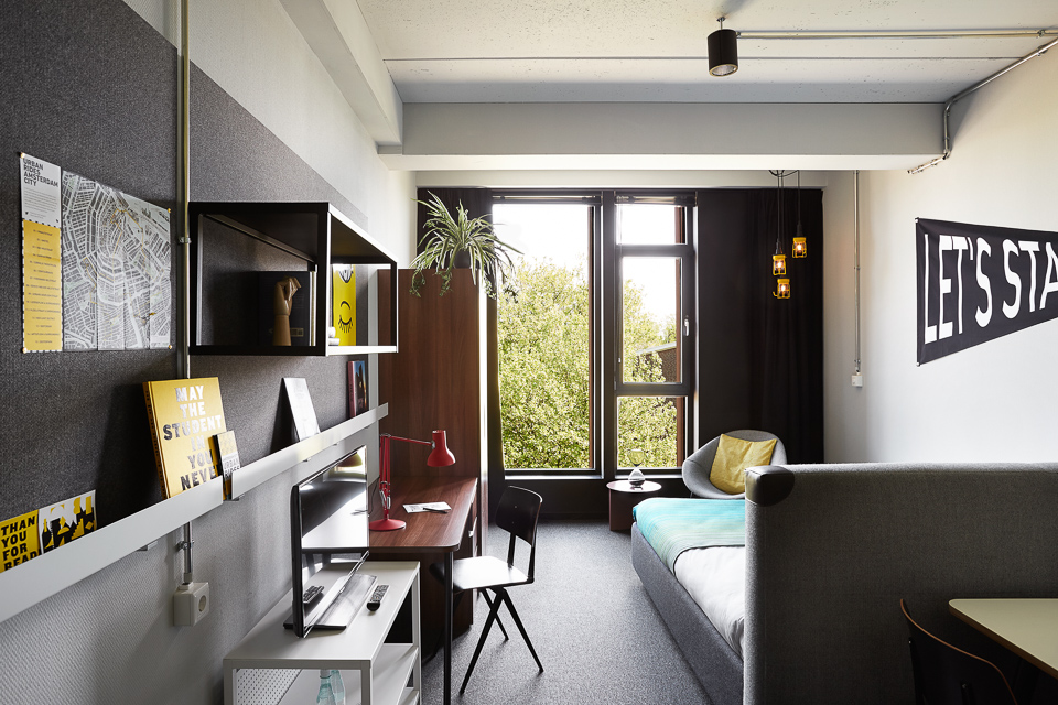 The Student Hotel Amsterdam City Hotel Accommodation Amp Rooms