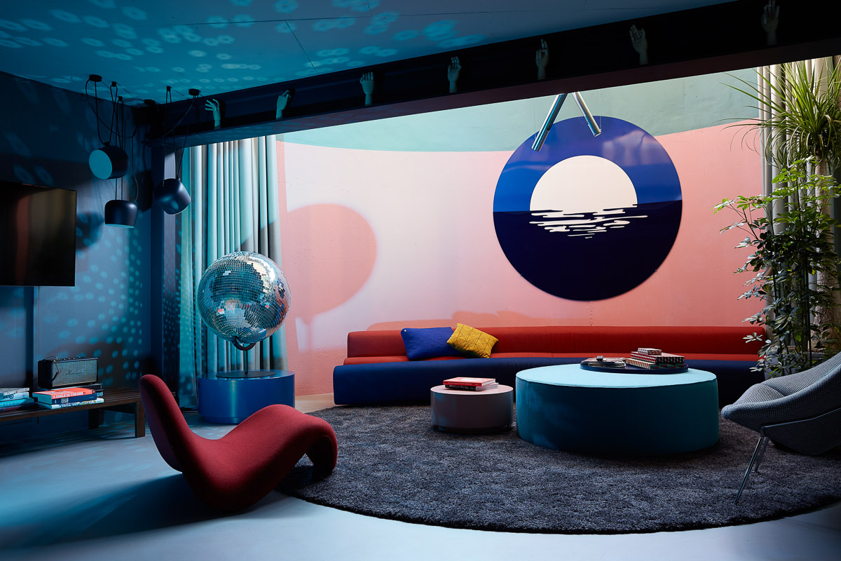 The Blue Play Room Suite at The Student Hotel Amsterdam City