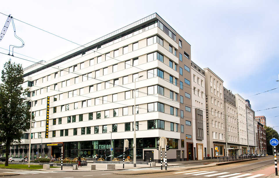 The student hotel rotterdam design hotel rotterdam for Designhotel maastricht comfort xl