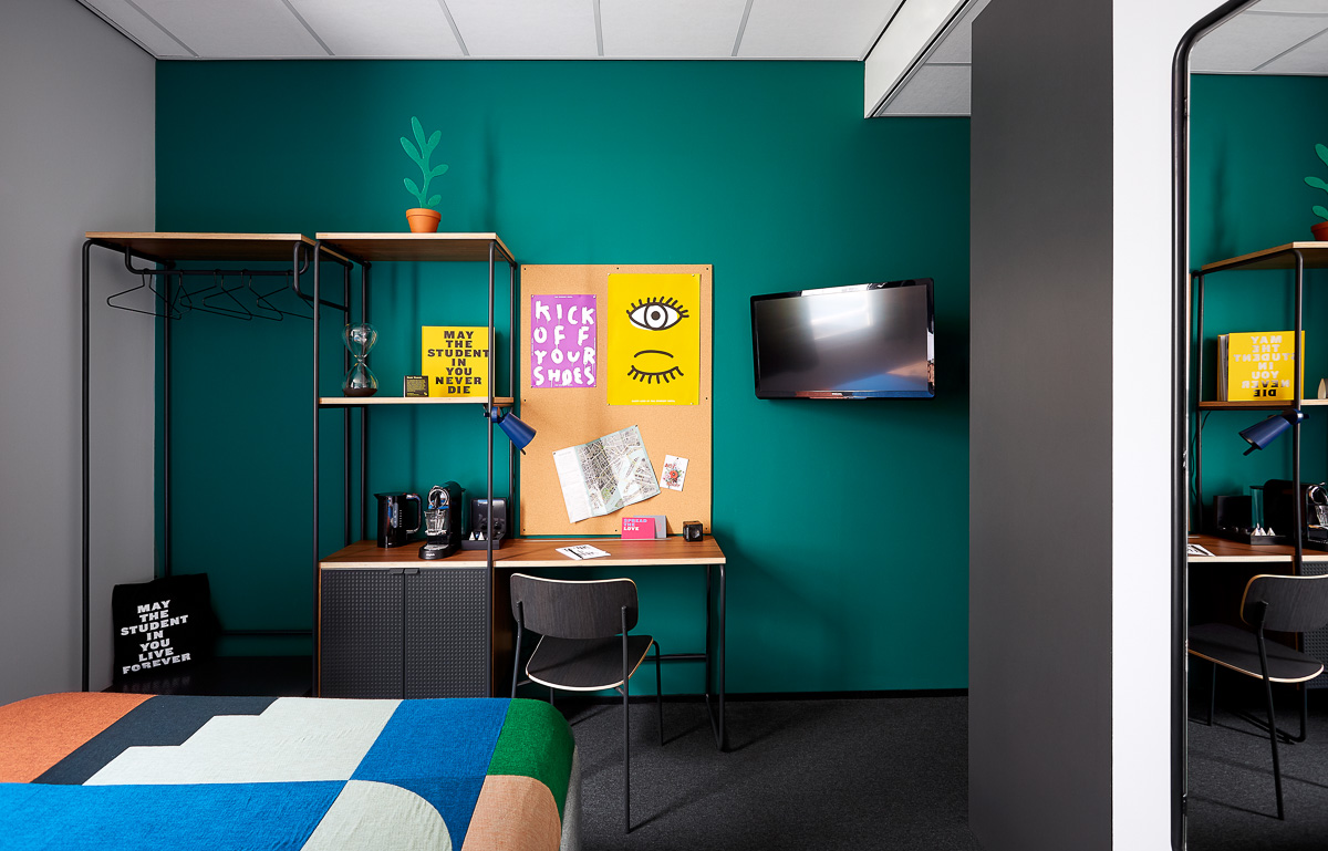 The Student Hotel Rotterdam: Hotel Accommodation & Rooms