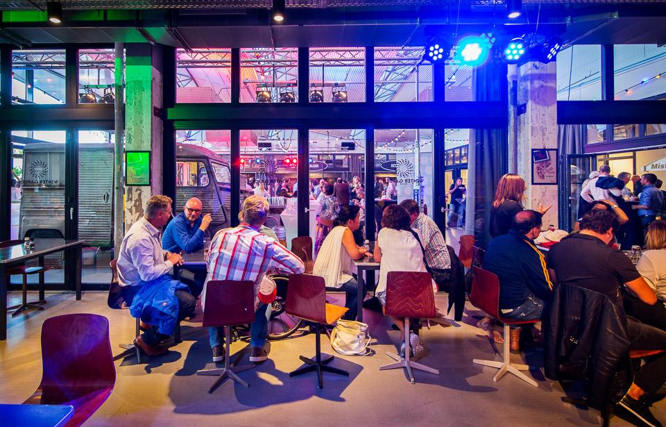 Den Haag, 10 september 2015.DSO Dag. Bezoek stadsdelen. FOTO/VALERIE KUYPERS
