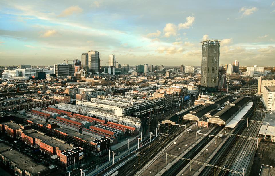 The Hague City Skyline