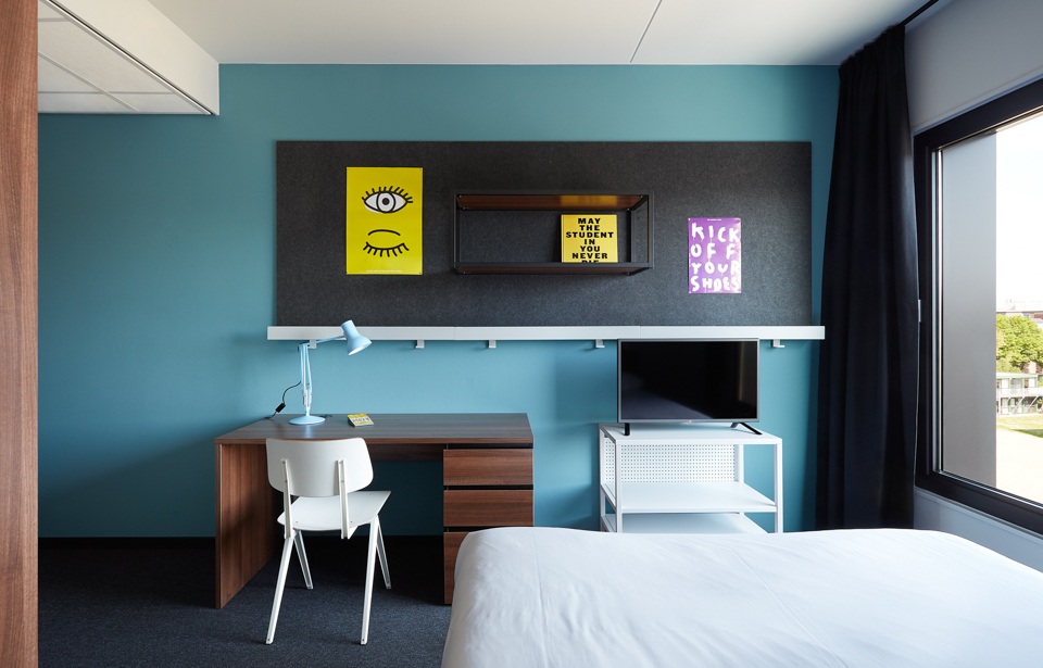 The student hotel groningen stay awhile accommodation rooms for Design hotel eindhoven