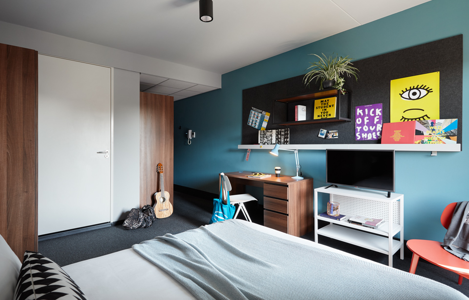 The student hotel groningen student accommodation rooms Room design site