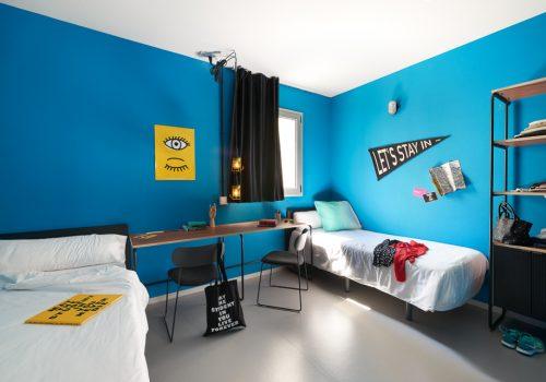 The student hotel barcelona student accommodation campus Habitacion hotel barcelona