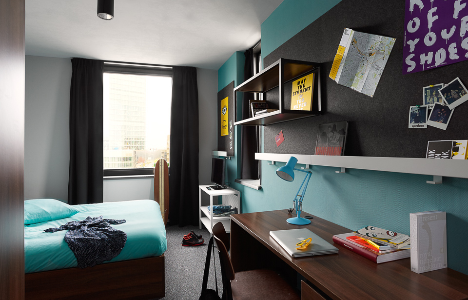The student hotel eindhoven student accommodation rooms for Eindhoven design school